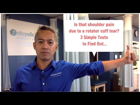 3 WAYS TO TEST FOR A ROTATOR CUFF TEAR | OBTS
