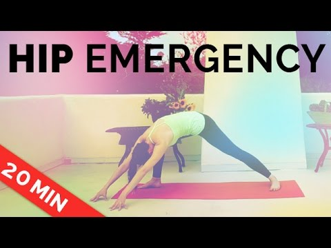 Yoga for Hip Pain: Yoga Sequence of Hip Stretches (20-min)