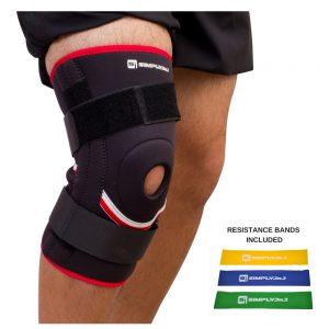 Open Patella Knee Support Sleeve