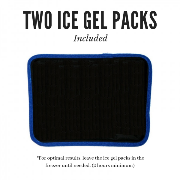 Extra Replacement gel pack for SimplyJnJ's Hip/Back/Ribs Cold Therapy Wrap