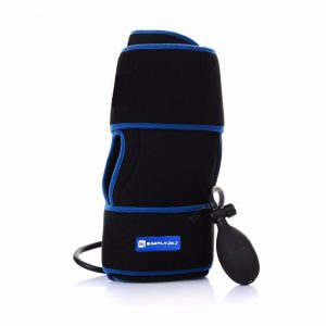 Cold Therapy Knee Wrap With Compression and Extra Ice Gel Pack - Essential Kit For Knee Pain and Post Knee Surgery Recovery
