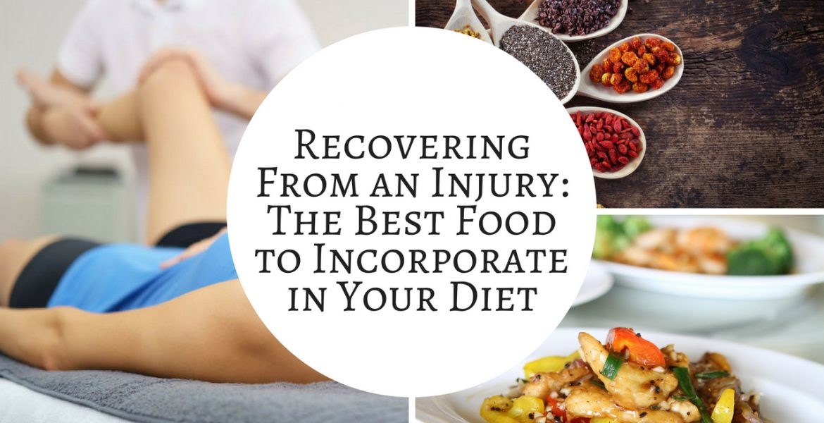 Recovering From An Injury - The Best Food to Incorporate in Your Diet - Canva - Post