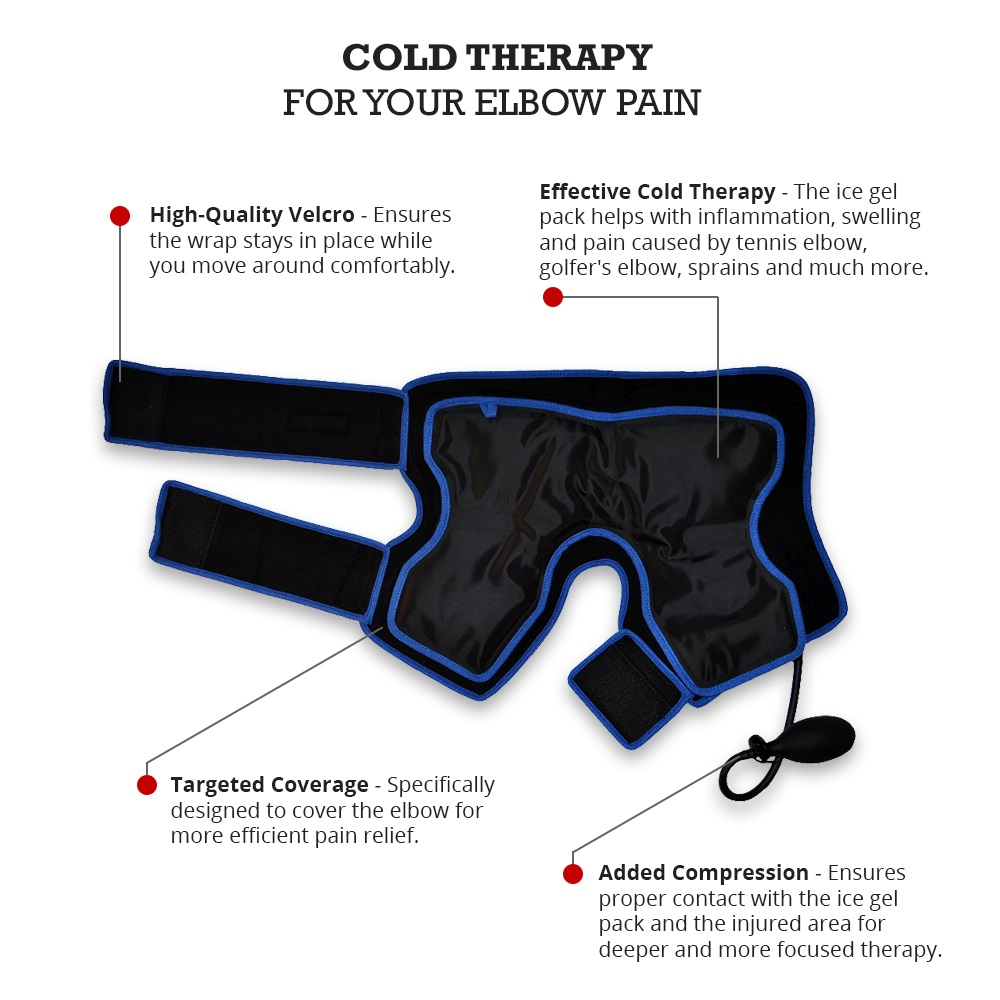 Cold Therapy Wrap for Tennis Elbow - Infographics