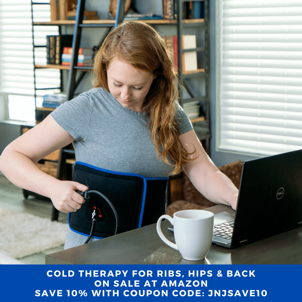 Cold Therapy Wrap - How To Care For Bruised Ribs