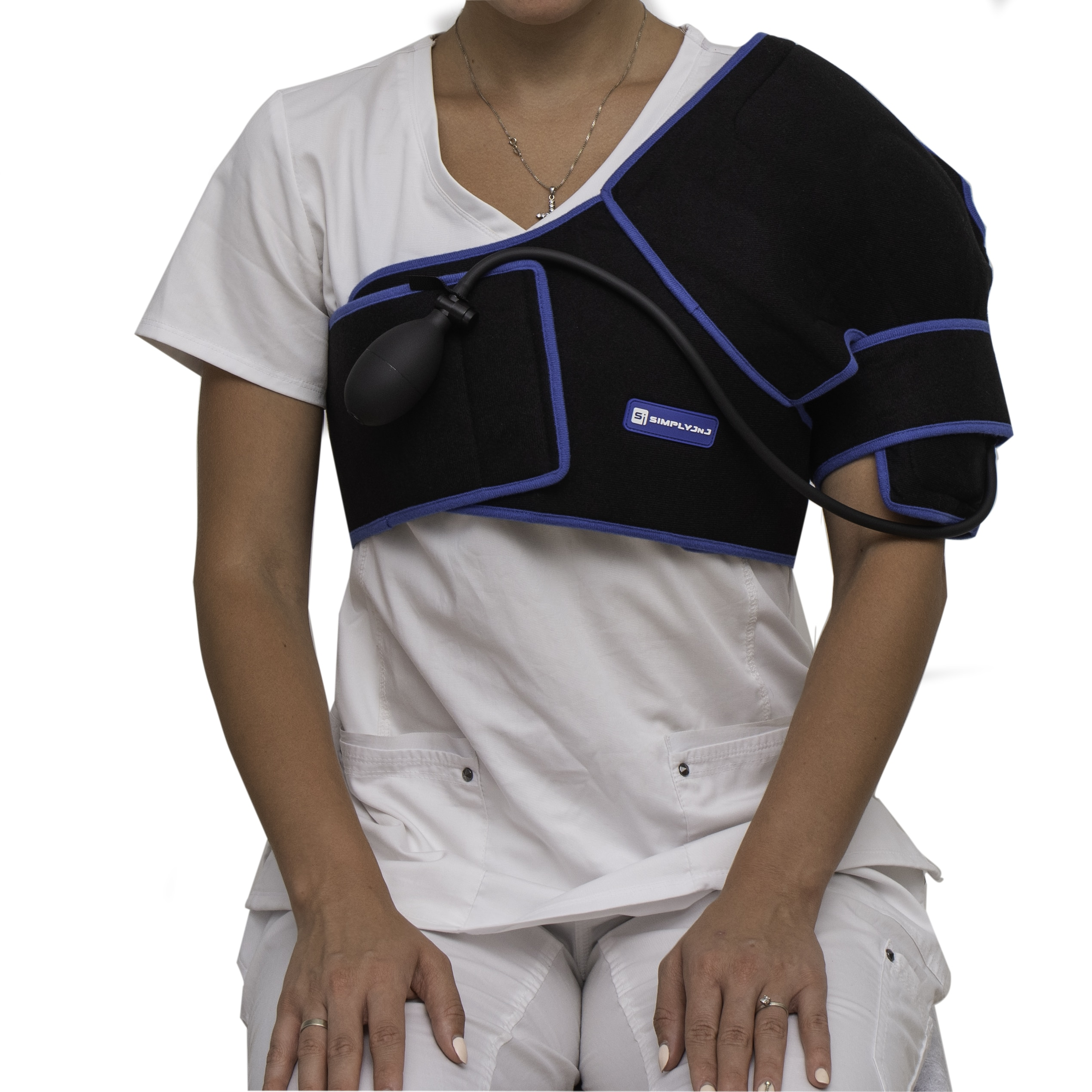 Shoulder Ice Wrap with Compression