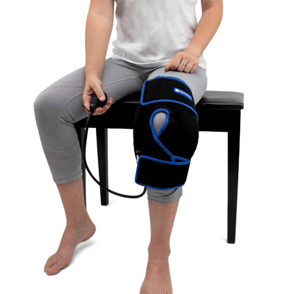 Knee Ice Wrap - Cold Therapy - Knee Pain - Knee Surgery