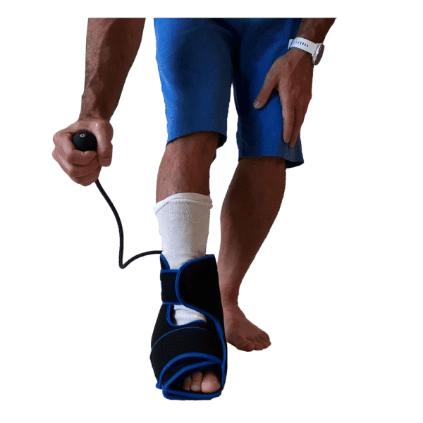 SimplyJnJ Foot & Ankle Ice Wrap With Compression - Other View